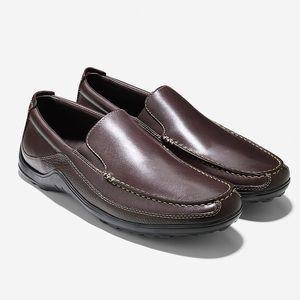 Cole Haan Brown Tucker Venetian Loafer